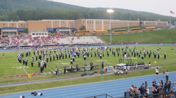 Blue Out Football Game, Benefit for Thelma Urban, Raider Band, Sports Stadium, Tamaqua, 9-4-2015 (154)