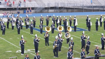 Blue Out Football Game, Benefit for Thelma Urban, Raider Band, Sports Stadium, Tamaqua, 9-4-2015 (173)