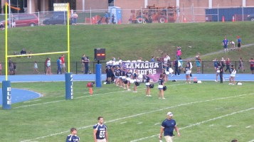 Blue Out Football Game, Benefit for Thelma Urban, Raider Band, Sports Stadium, Tamaqua, 9-4-2015 (211)