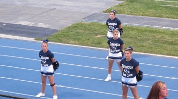 Blue Out Football Game, Benefit for Thelma Urban, Raider Band, Sports Stadium, Tamaqua, 9-4-2015 (259)
