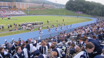 Blue Out Football Game, Benefit for Thelma Urban, Raider Band, Sports Stadium, Tamaqua, 9-4-2015 (273)