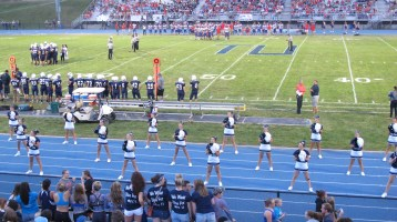Blue Out Football Game, Benefit for Thelma Urban, Raider Band, Sports Stadium, Tamaqua, 9-4-2015 (321)