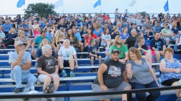 Blue Out Football Game, Benefit for Thelma Urban, Raider Band, Sports Stadium, Tamaqua, 9-4-2015 (360)