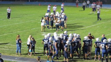 Blue Out Football Game, Benefit for Thelma Urban, Raider Band, Sports Stadium, Tamaqua, 9-4-2015 (432)