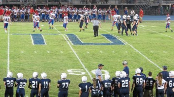 Blue Out Football Game, Benefit for Thelma Urban, Raider Band, Sports Stadium, Tamaqua, 9-4-2015 (481)
