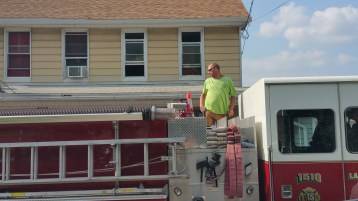 House Fire, Smoke, West Water Street, Lansford, 9-1-2015 (60)