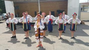 Kazka Ukrainian Folk Ensemble, during Parish Picnic, St. Mary's Ukrainian Catholic Church, McAd (49)