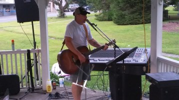 Music in the Park, Rodney Clouser Band, Kennedy Park, Lansford, 8-30-2015 (28)