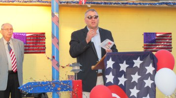 Sept. 11 Remembrance, Memorial Service, Jackie Jones, South Ward Playground, Tamaqua (110)