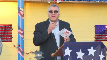 Sept. 11 Remembrance, Memorial Service, Jackie Jones, South Ward Playground, Tamaqua (112)