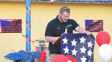 Sept. 11 Remembrance, Memorial Service, Jackie Jones, South Ward Playground, Tamaqua (125)