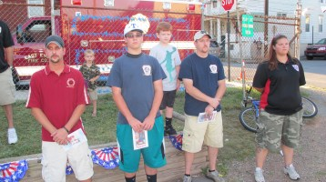 Sept. 11 Remembrance, Memorial Service, Jackie Jones, South Ward Playground, Tamaqua (25)