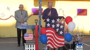 Sept. 11 Remembrance, Memorial Service, Jackie Jones, South Ward Playground, Tamaqua (3)