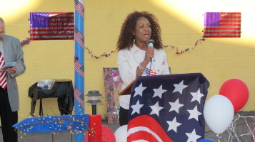Sept. 11 Remembrance, Memorial Service, Jackie Jones, South Ward Playground, Tamaqua (38)