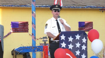 Sept. 11 Remembrance, Memorial Service, Jackie Jones, South Ward Playground, Tamaqua (79)