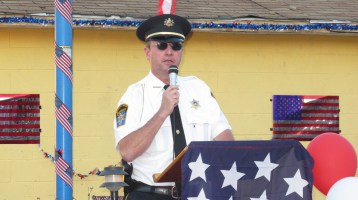 Sept. 11 Remembrance, Memorial Service, Jackie Jones, South Ward Playground, Tamaqua (80)