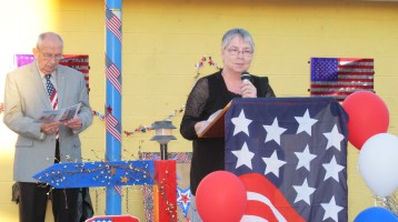 Sept. 11 Remembrance, Memorial Service, Jackie Jones, South Ward Playground, Tamaqua (88)