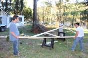 Building a Cabin from Camp Brainerd, Lower Owl Creek Reservoir, Tamaqua, 10-11-2015 (31)