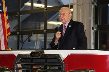 Dedication of New Fire Station, Pumper Truck, Boat, Lehighton Fire Department, Lehighton (77)