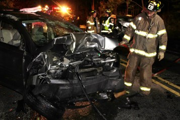 Driver Flees Head-On Crash During Following Police Pursuit in Ryan Township, 10-4-2015 (23)