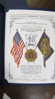 Installation of Officers, Coaldale American Legion, Coaldale, 9-12-2015 (57)