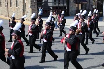Parade for New Fire Station, Pumper Truck, Boat, Lehighton Fire Department, Lehighton (140)