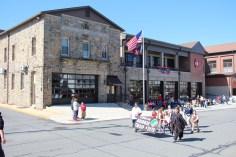 Parade for New Fire Station, Pumper Truck, Boat, Lehighton Fire Department, Lehighton (180)