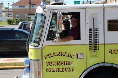 Parade for New Fire Station, Pumper Truck, Boat, Lehighton Fire Department, Lehighton (202)