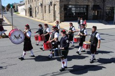 Parade for New Fire Station, Pumper Truck, Boat, Lehighton Fire Department, Lehighton (245)