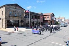 Parade for New Fire Station, Pumper Truck, Boat, Lehighton Fire Department, Lehighton (246)
