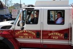 Parade for New Fire Station, Pumper Truck, Boat, Lehighton Fire Department, Lehighton (293)