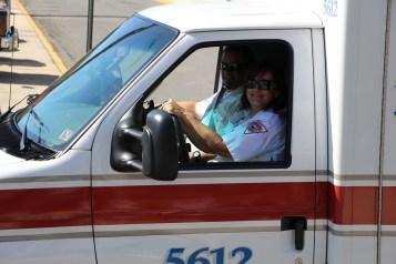 Parade for New Fire Station, Pumper Truck, Boat, Lehighton Fire Department, Lehighton (317)