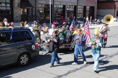 Parade for New Fire Station, Pumper Truck, Boat, Lehighton Fire Department, Lehighton (329)