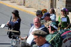 Parade for New Fire Station, Pumper Truck, Boat, Lehighton Fire Department, Lehighton (335)