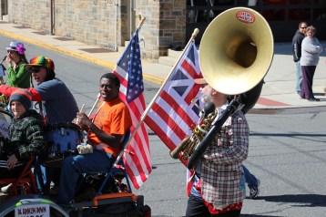 Parade for New Fire Station, Pumper Truck, Boat, Lehighton Fire Department, Lehighton (338)