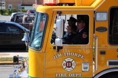 Parade for New Fire Station, Pumper Truck, Boat, Lehighton Fire Department, Lehighton (356)