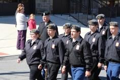 Parade for New Fire Station, Pumper Truck, Boat, Lehighton Fire Department, Lehighton (362)