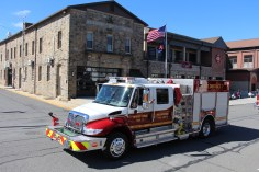 Parade for New Fire Station, Pumper Truck, Boat, Lehighton Fire Department, Lehighton (422)