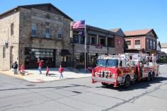 Parade for New Fire Station, Pumper Truck, Boat, Lehighton Fire Department, Lehighton (428)