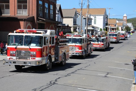 Parade for New Fire Station, Pumper Truck, Boat, Lehighton Fire Department, Lehighton (61)