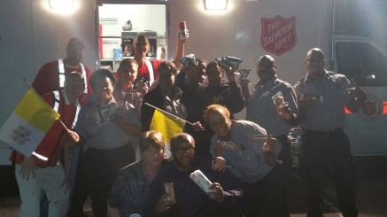 Pope Visit, Salvation Army volunteers, from Eric Becker, Philadelphia, Sept 2015 (68)