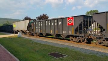 Train Through Tamaqua, 9-1-2015 (7)