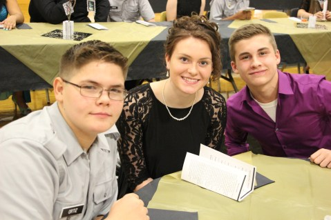 100th Anniversary Celebration of Panther Valley JROTC, PV High School, Lansford, 11-14-2015 (117)