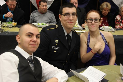 100th Anniversary Celebration of Panther Valley JROTC, PV High School, Lansford, 11-14-2015 (151)