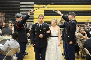 100th Anniversary Celebration of Panther Valley JROTC, PV High School, Lansford, 11-14-2015 (16)