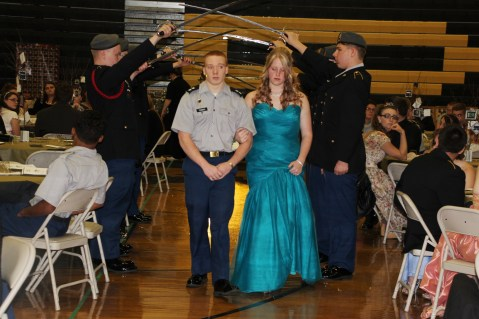 100th Anniversary Celebration of Panther Valley JROTC, PV High School, Lansford, 11-14-2015 (35)