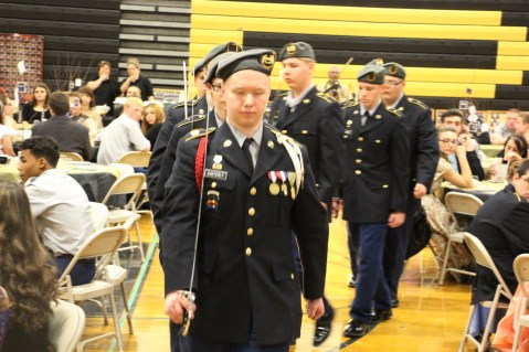 100th Anniversary Celebration of Panther Valley JROTC, PV High School, Lansford, 11-14-2015 (46)