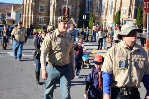 Carbon County Veterans Day Parade, Jim Thorpe, 11-8-2015 (208)