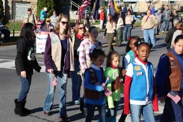 Carbon County Veterans Day Parade, Jim Thorpe, 11-8-2015 (231)
