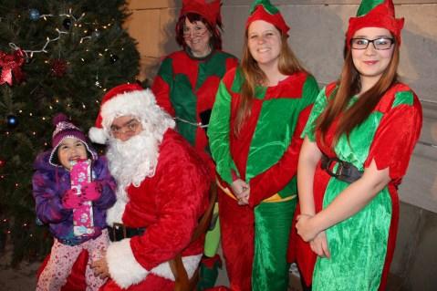 Coaldale Holiday Tree Lighting, Via C.H.O.S.E., Borough Hall, Coaldale, 11-29-2015 (49)